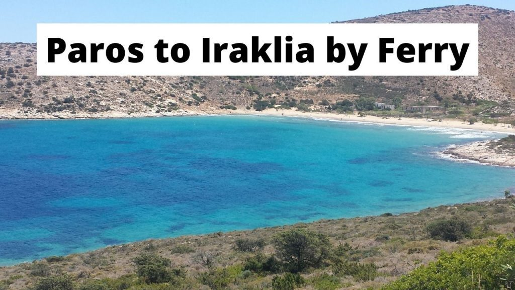 A look at how to get from Paros to Iraklia island in Greece by ferry