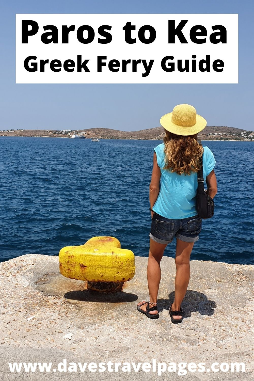 The best way to get from Paros to Kea in Greece
