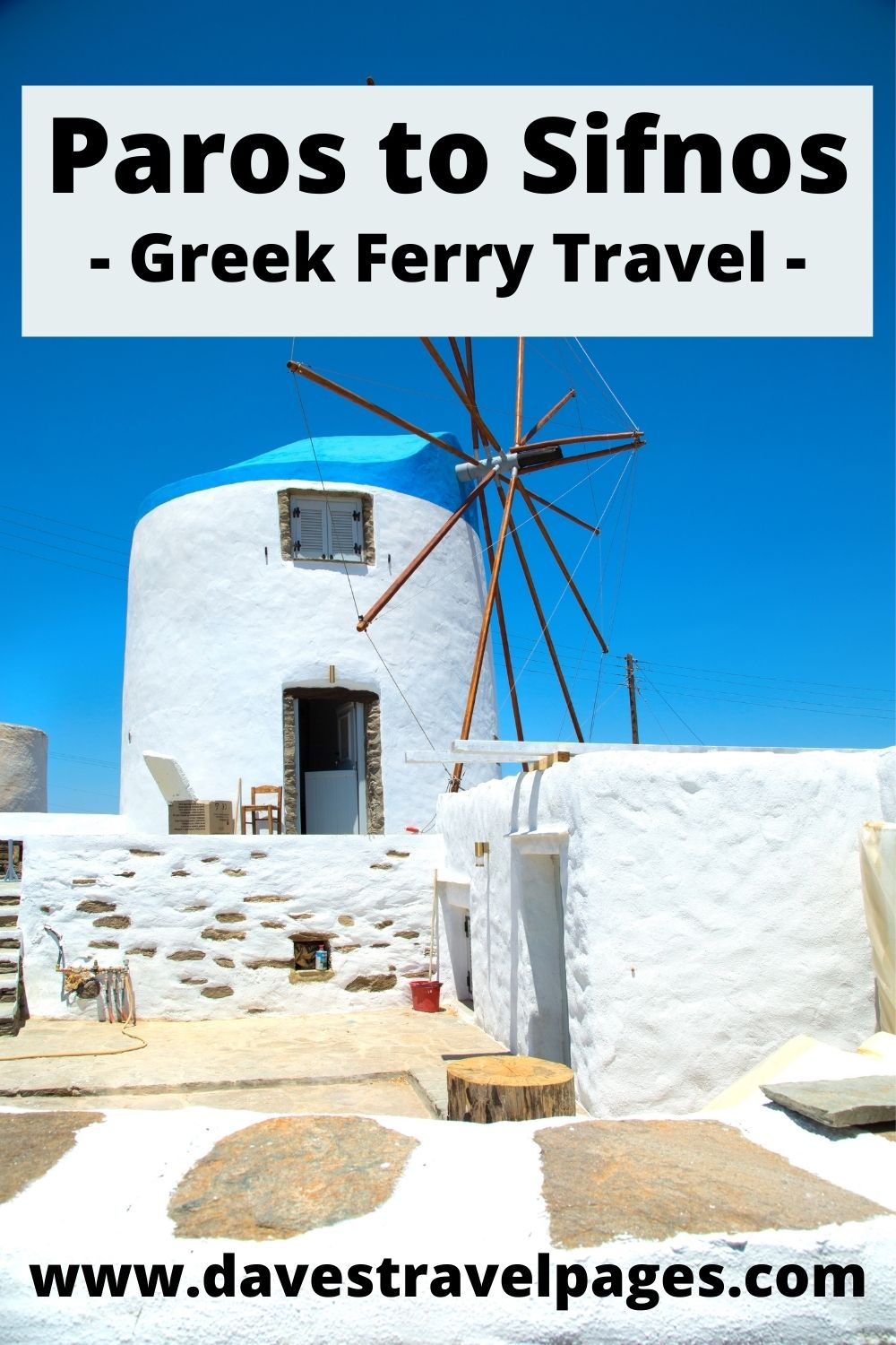 Traveling from Paros to Sifnos by ferry