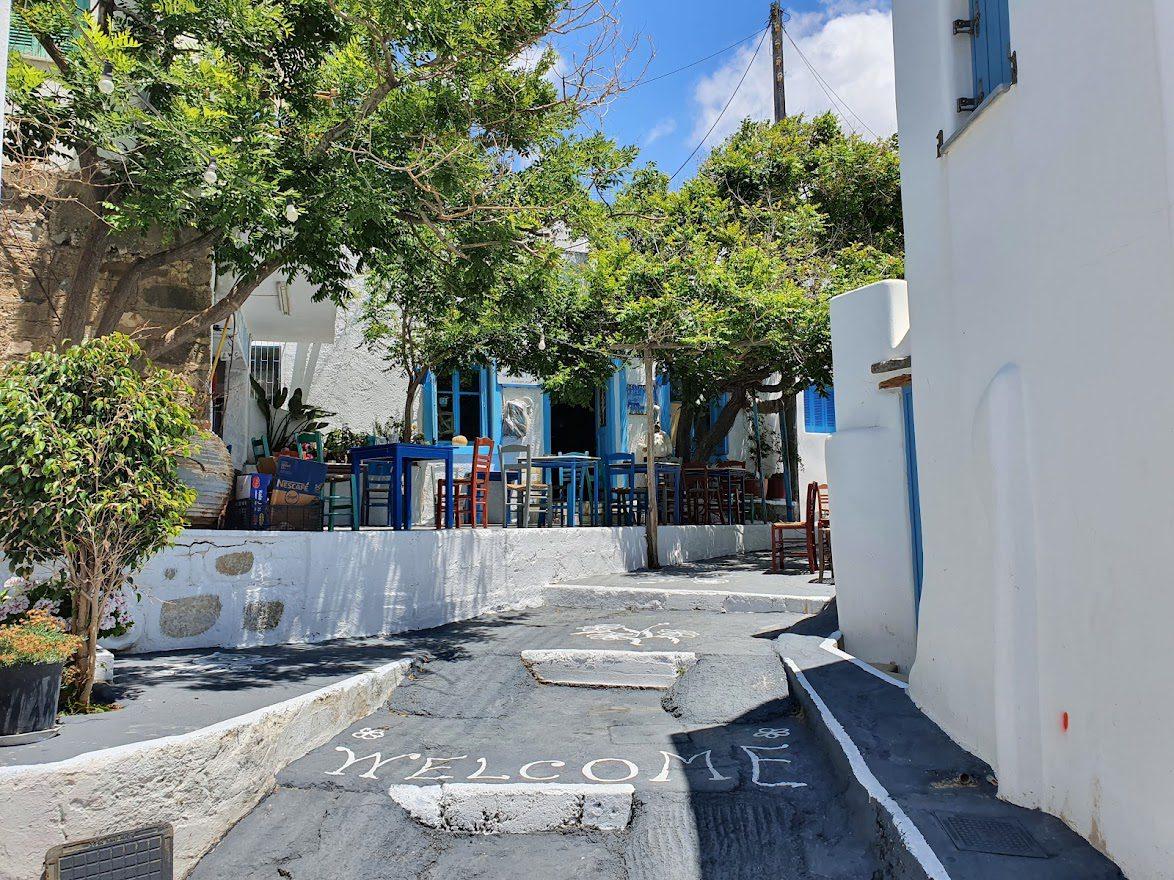 Walking around Amorgos