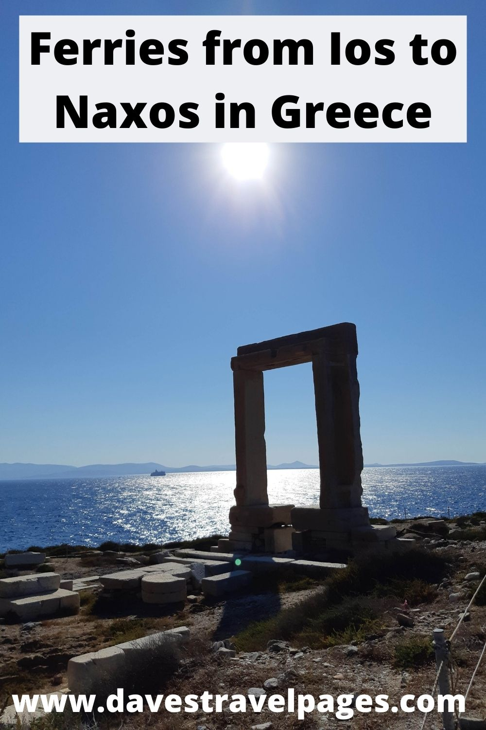 Ios to Naxos Ferry Times and Travel Information