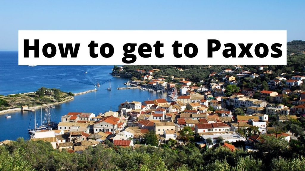 How to get to Paxos Greece
