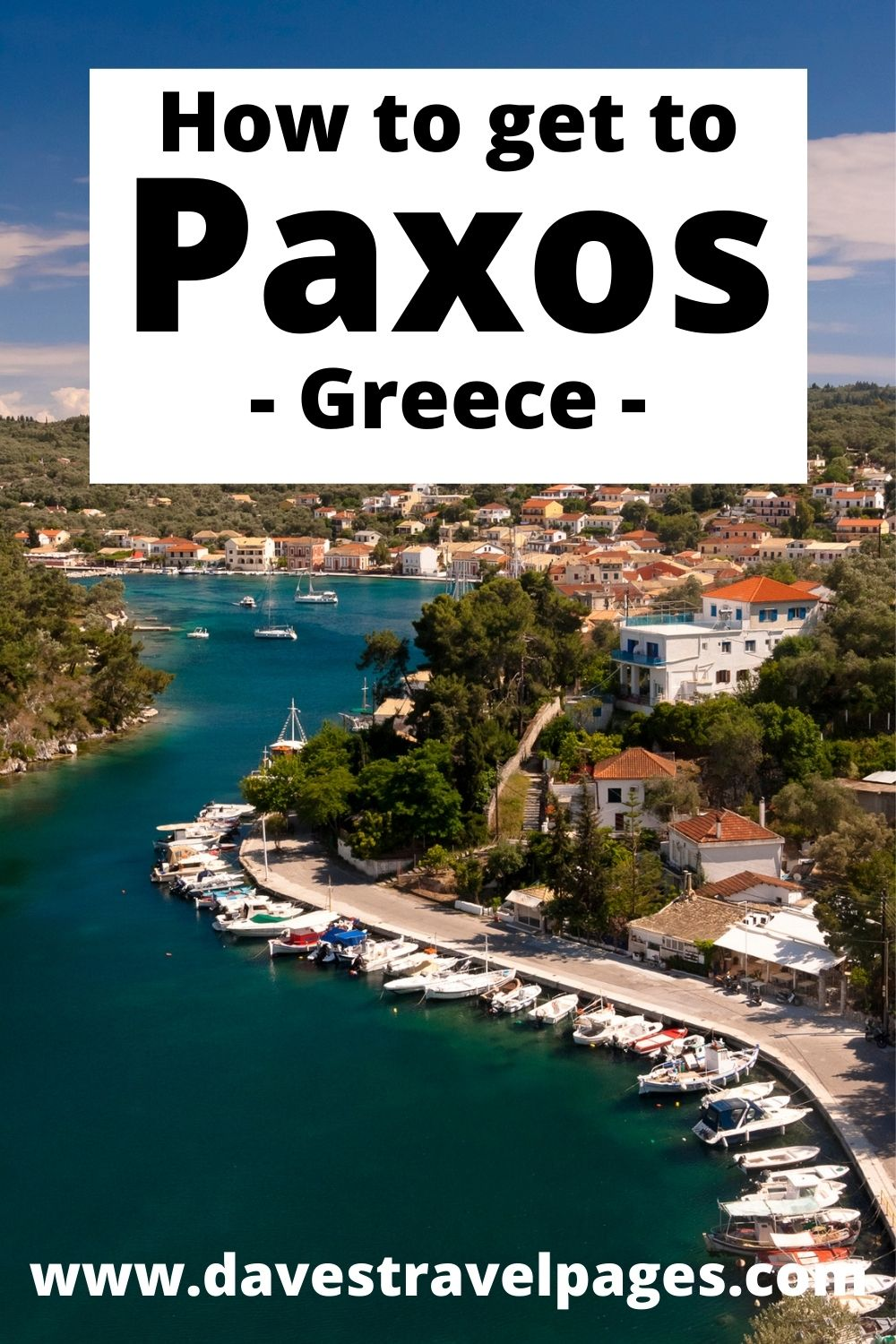How to get to the Greek island of Paxos