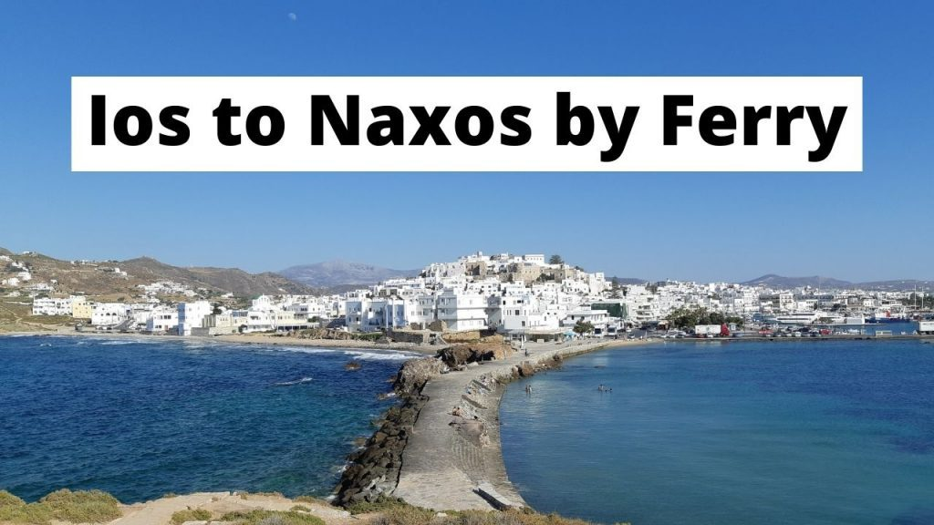 Traveling from Ios to Naxos by ferry