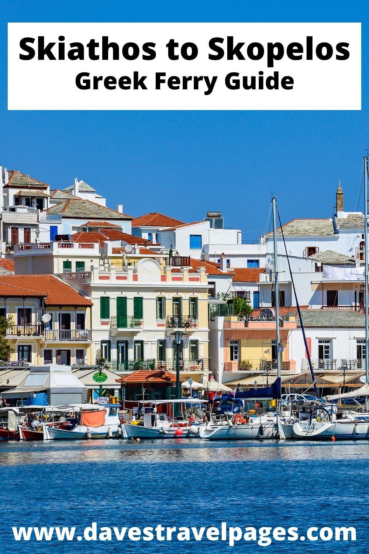 Skiathos to Skopelos Island Hopping in Greece