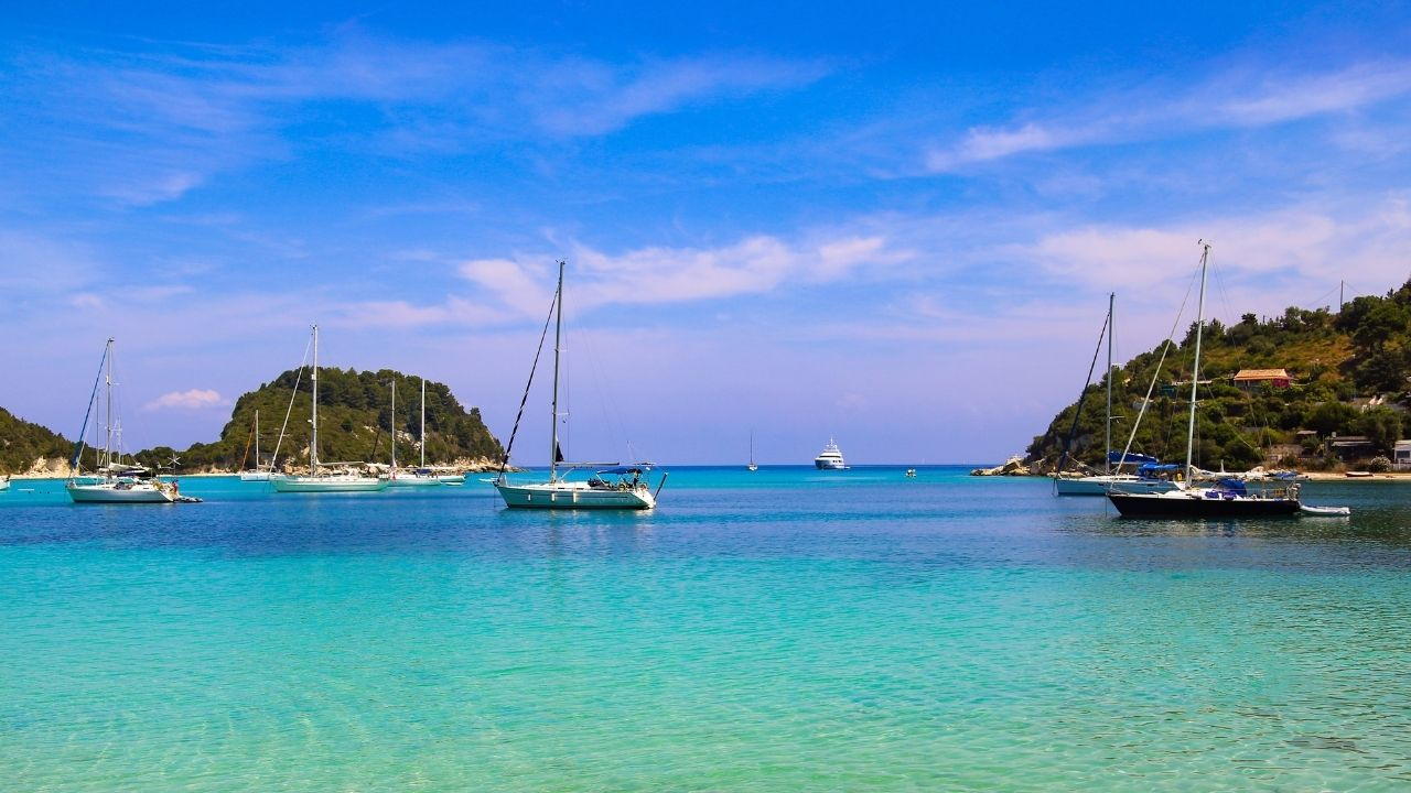 The crystal clear waters of Paxos