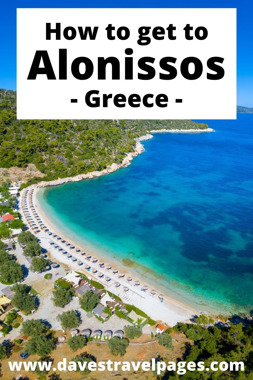 דרכים קלות להגיע לאלוניסוס ביוון