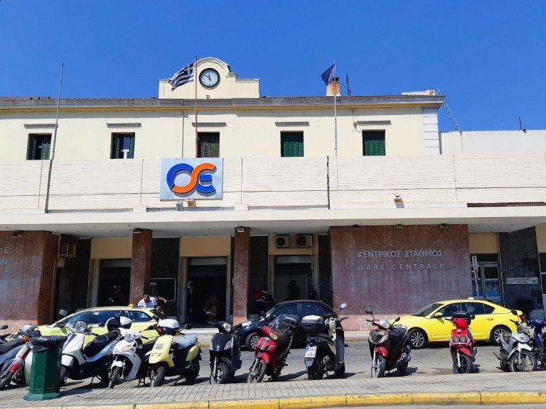 תחנת הרכבת המרכזית באתונה