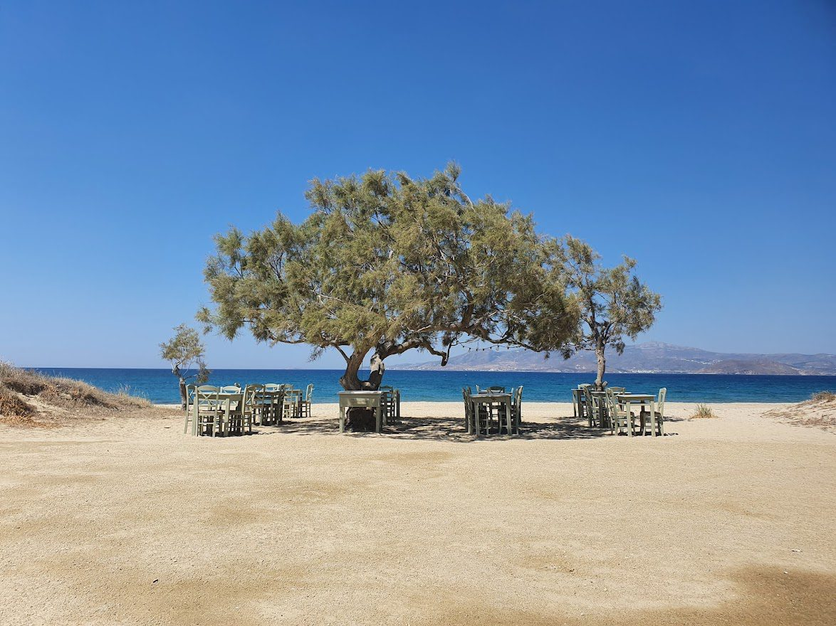 Naxos is a lovely Greek island to visit after Ios