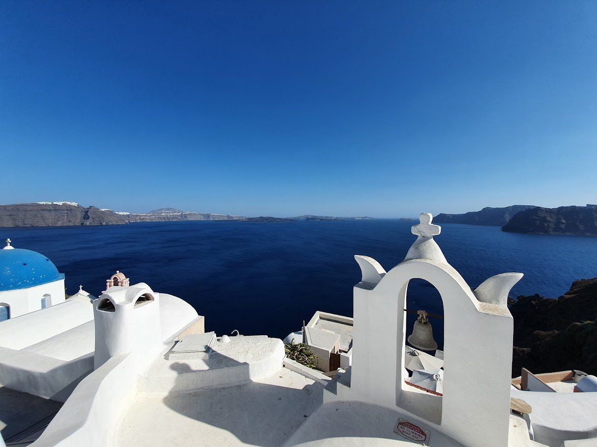 Santorini is a good island to visit after Ios